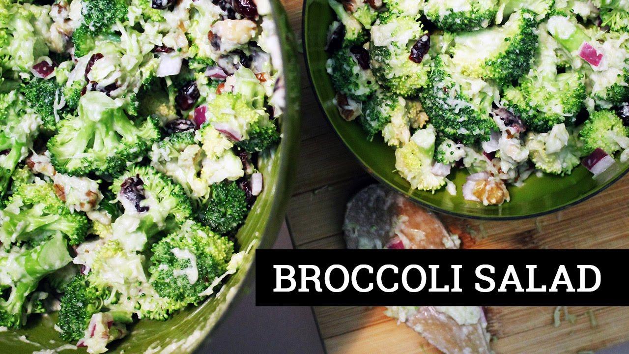 Vegan Broccoli Salad   Recipe by Mary's Test Kitchen