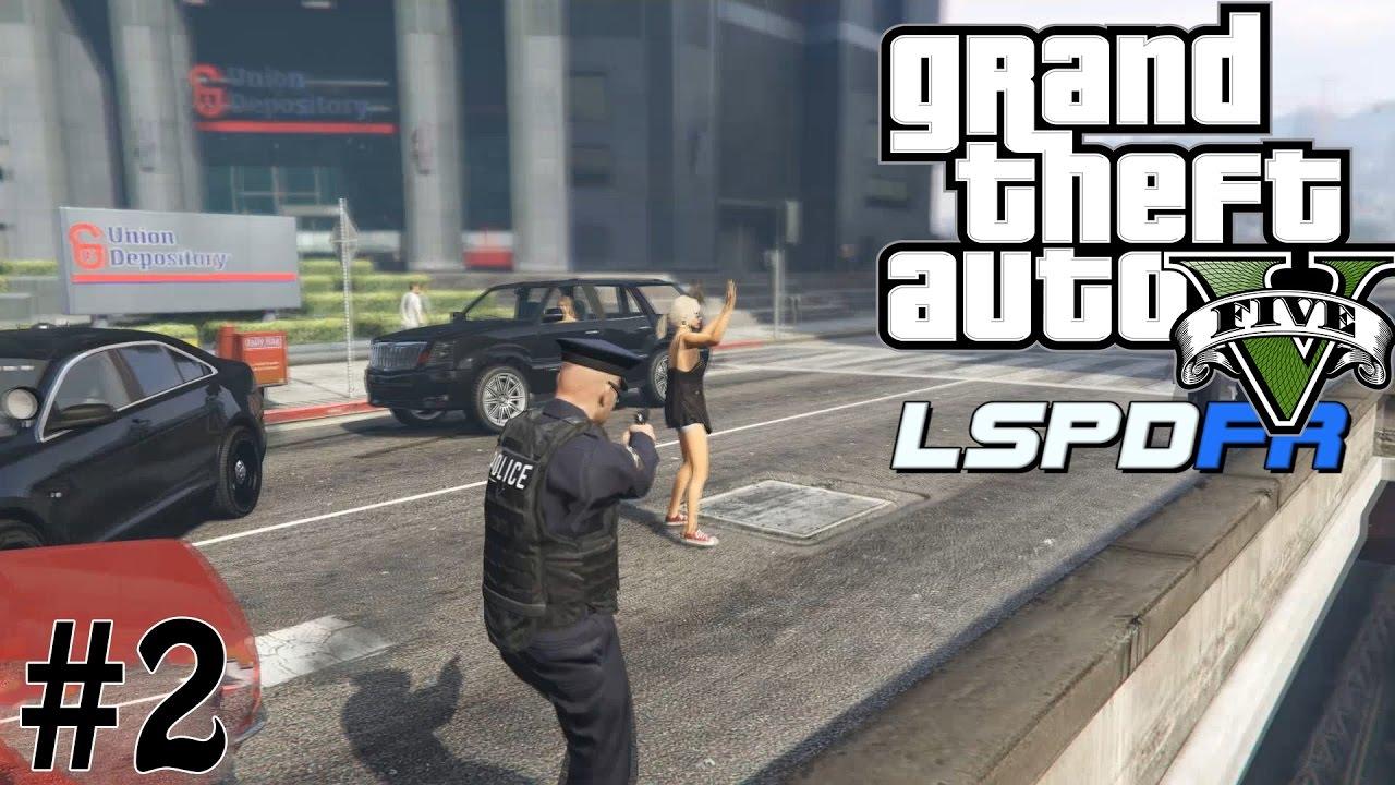 GTA 5 LSPD First Response #2   GET DOWN!!