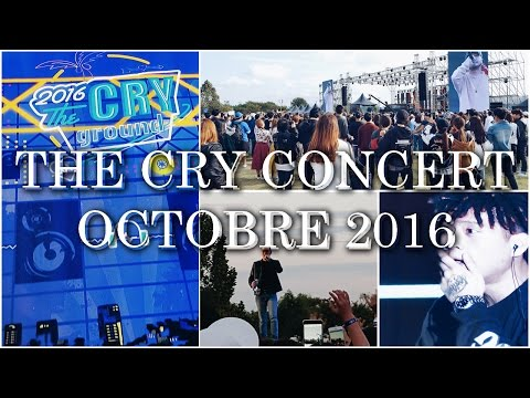 KOREA MOMENTS : THE CRY CONCERT OCTOBRE 2016 (G2, CRUSH, BEWHY, CJAMM....)
