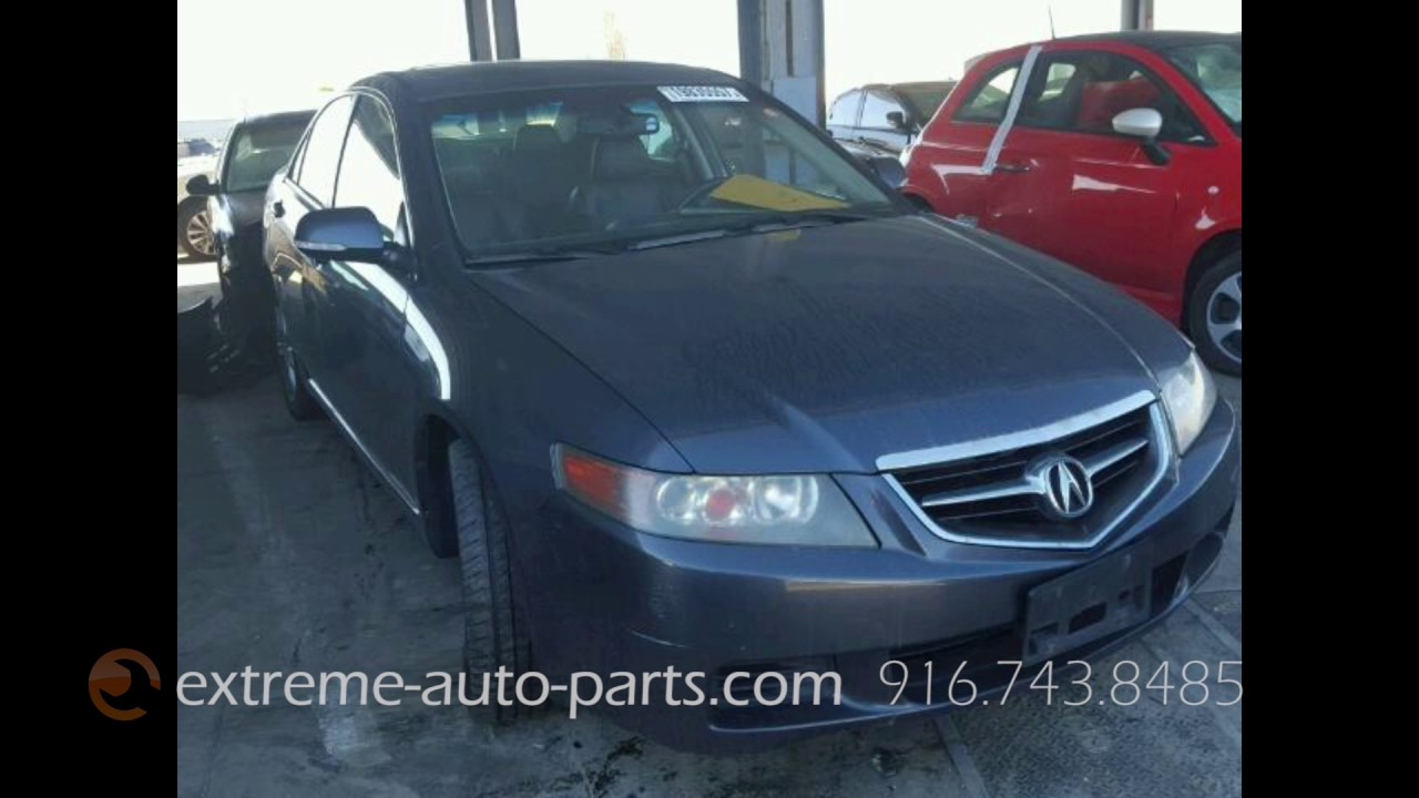 Acura TSX Parts Vehicle AA YouTube - 2005 acura tsx parts