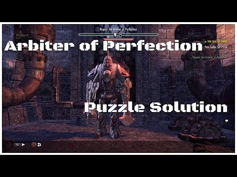 Arbiter of Perfection Puzzle Solution - Seal of Three - ESO Online
