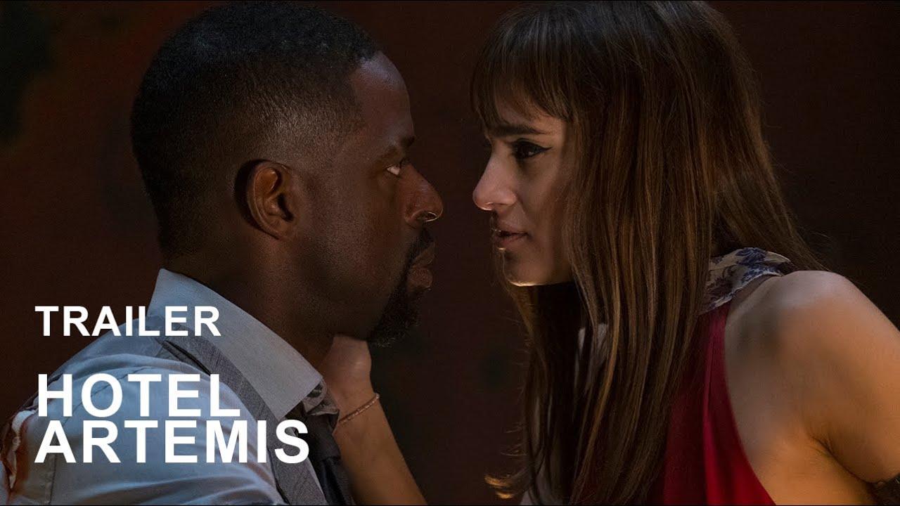 Hotel Artemis officiell trailer HD 2018   svenska undertexter