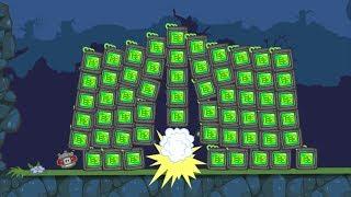 Bad Piggies - GIGANTIC 1000 TNT EXPLOSIONS!