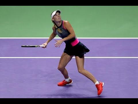 2017 WTA Finals Round Robin | Shot of the Day | Caroline Wozniacki
