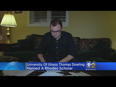 University Of Illinois Student Named Rhodes Scholar