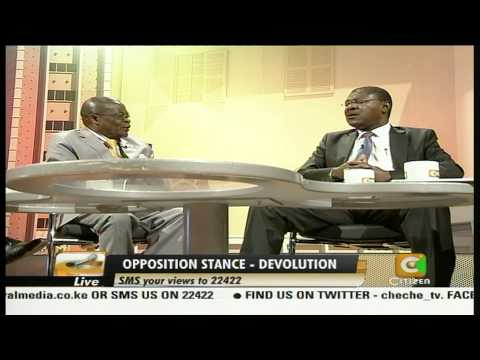 Cheche Interview with Moses Wetangula-Senator,Bungoma Part3