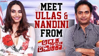 Meet Ullas And Nandini From Adhyaksha In America | Sharan | Ragini Dwivedi | People Media Factory