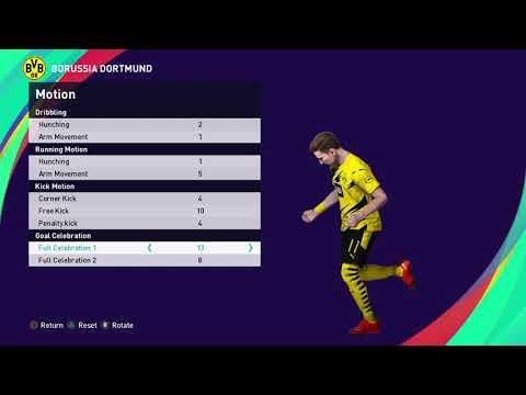 M. REUS Base Copy Ps4 EFootball PES 2021 SEASON UPDATE_