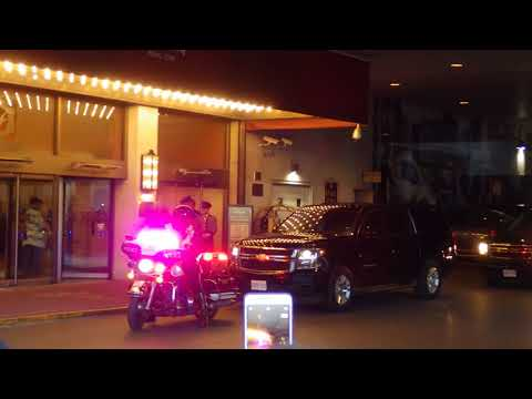 Prince Harry Departing Toronto Hotel