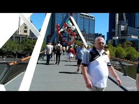 A tour around Melbourne City Australia  2016/2017
