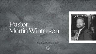 Sunday 29th November: Guest Speaker Martin Winterson