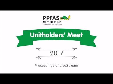 Unitholders' Meet : Mumbai 2017
