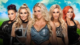 WWE Money in The Bank 2017 - Women's Ladder Match [ WWE 2k17 ]