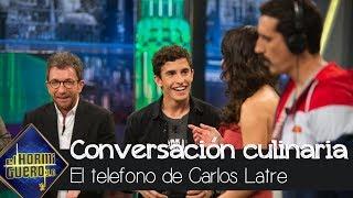 El culinario teléfono escacharrado de Carlos Latre con Marc Márquez - El Hormiguero 3.0