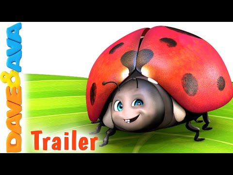 🐞 Five Little Ladybugs – Trailer  Nursery Rhymes and Kids Songs from Dave and Ava 🐞