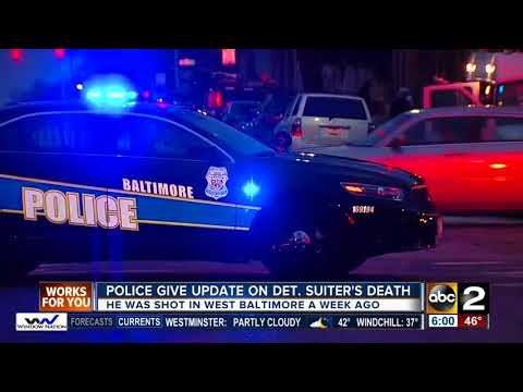 Baltimore Police: Detective Suiter was shot with his own firearm, conspiracies are untrue