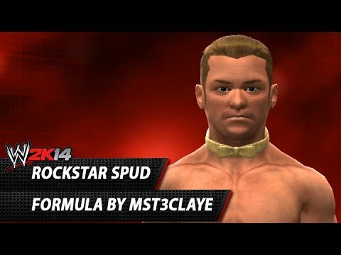 WWE 2K14: Rockstar Spud CAW Formula By MST3Claye & kingisisisisis Moveset