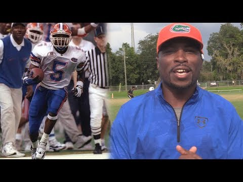 All-American WR Jacquez Green Thanks Gator Nation For UF Athletic Hall of Fame 2017 Induction!