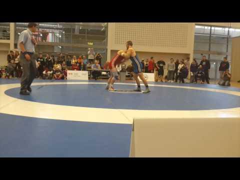 2015 Senior Greco-Roman National Championships: 71 kg Kyle Horvath vs. Alec Bauer
