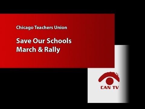Protest Of CPS School Closings: Arrests, Tangled Evening Commute Stem From Loop Rally
