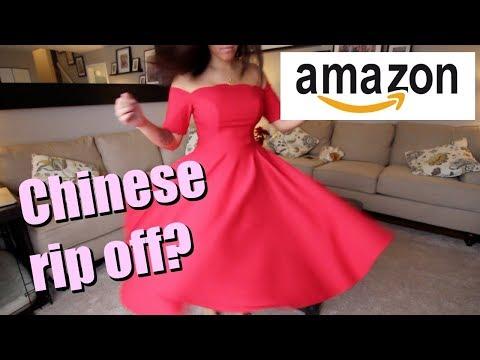 AMAZON DRESSES *TRY ON*   ITSJUSTKELLI
