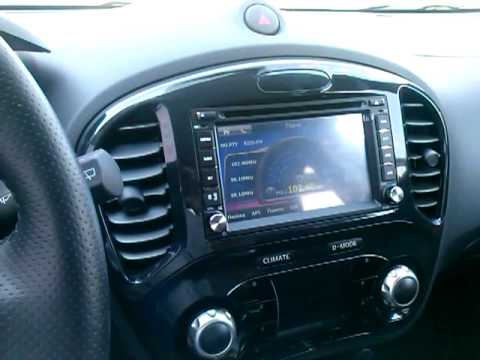 nissan juke with winson audio system p1 youtube. Black Bedroom Furniture Sets. Home Design Ideas