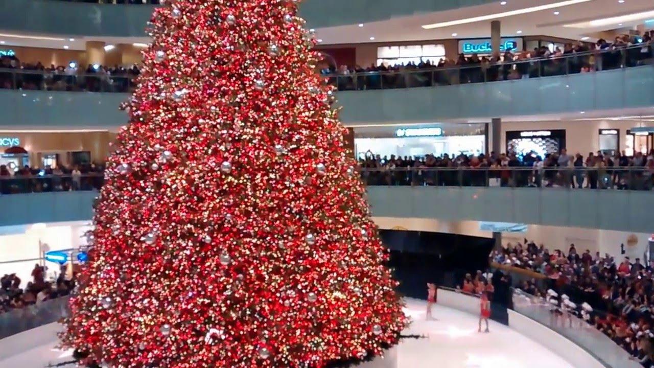 Dallas Galleria 2017 Christmas Tree Lighting