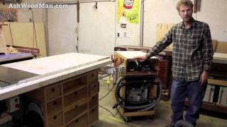 Work Bench, Mobile Festool Vacuum Work Station • Woodworking Shop Tour (2 Of 5)