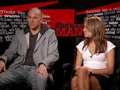 Interview With Amanda Bynes & Channing Tatum - YouTube ченнинг татум