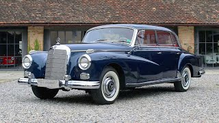 1959 Mercedes-Benz 300d Adenauer Limousine W189 big and beauty