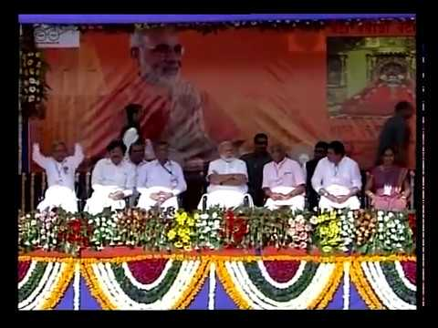 PM Modi addresses public meeting in Somnath, Gujarat
