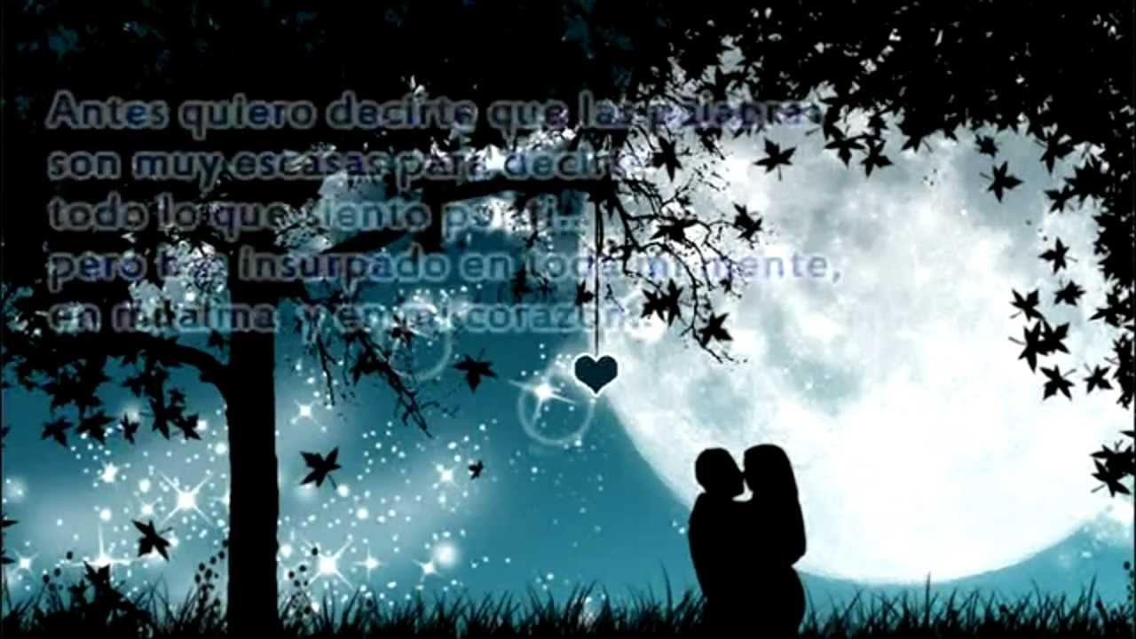 Poemas de amor para mi novia youtube