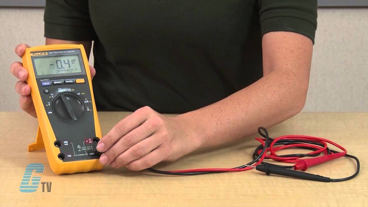 Fluke Digital Multimeter Overview - 170 Series