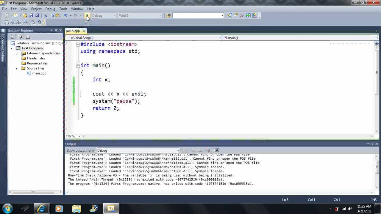 Lesson 8 The Cin Statement Beginning Programming With Visual