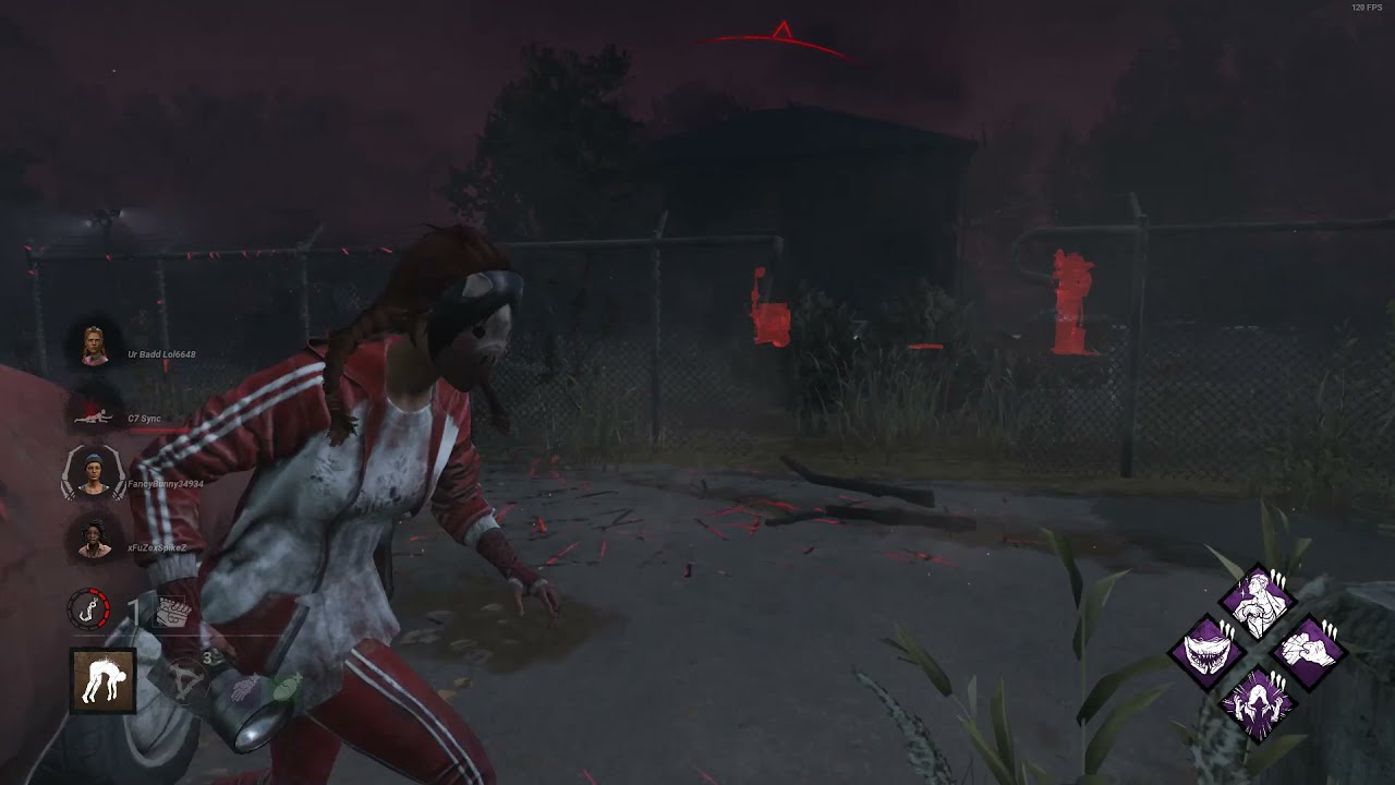 She wasn't ready for the fat hag play  - Dead By Daylight