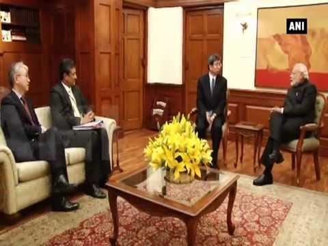 Asian Development Bank president calls on PM Narendra Modi