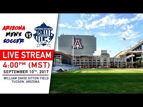 Arizona Men's Soccer vs. NMT | 4pm (MST) - Sep. 10, 2017