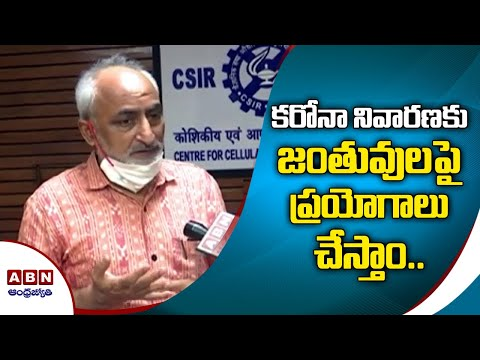 CCMB Director Rakesh Mishra Face to Face over Coronavirus Vaccine Trials | ABN Telugu teluguvoice