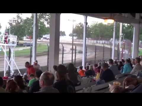West Liberty Raceway IMCA Northern Sport Mod feat.6/14/14
