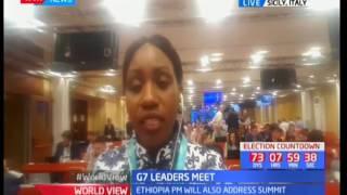 President Uhuru Kenyatta attends G7 Summit