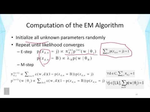 Probabilistic Latent Semantic Analysis PLSA - Part 2