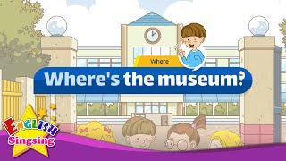 [Where] Where's the museum - Easy Dialogue - Role Play