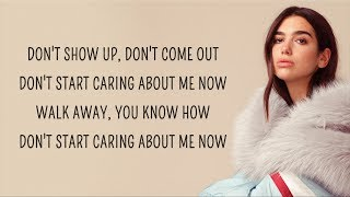 Download lagu Dua Lipa - Don't Start Now (Lyrics)