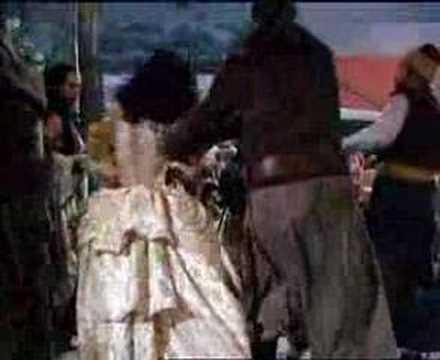 ANNE OF THE INDIES. SLAVE MARKET SCENE