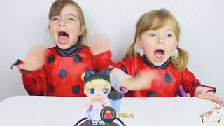 MIRACULOUS LADYBUG CAÇA BONECAS LOL GLAM GLITTER NO PARQUINHO ! PRETEND PLAY LOL DOLL IN PLAYGROUND