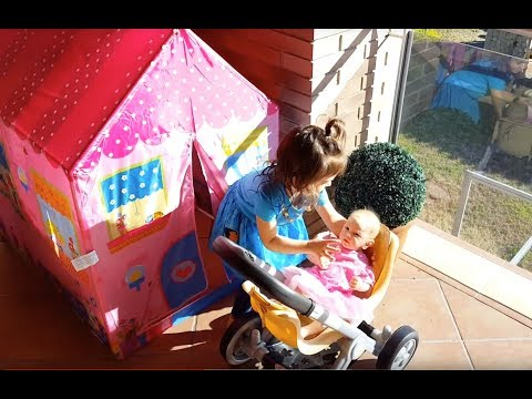 Thumbnail: Emily's Silicone Baby Stroller - Princess PlayHouse