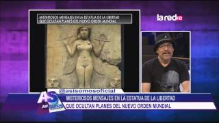 Misteriosos mensajes en la estatua de la libertad que ocultan planes del nuevo orden mundial