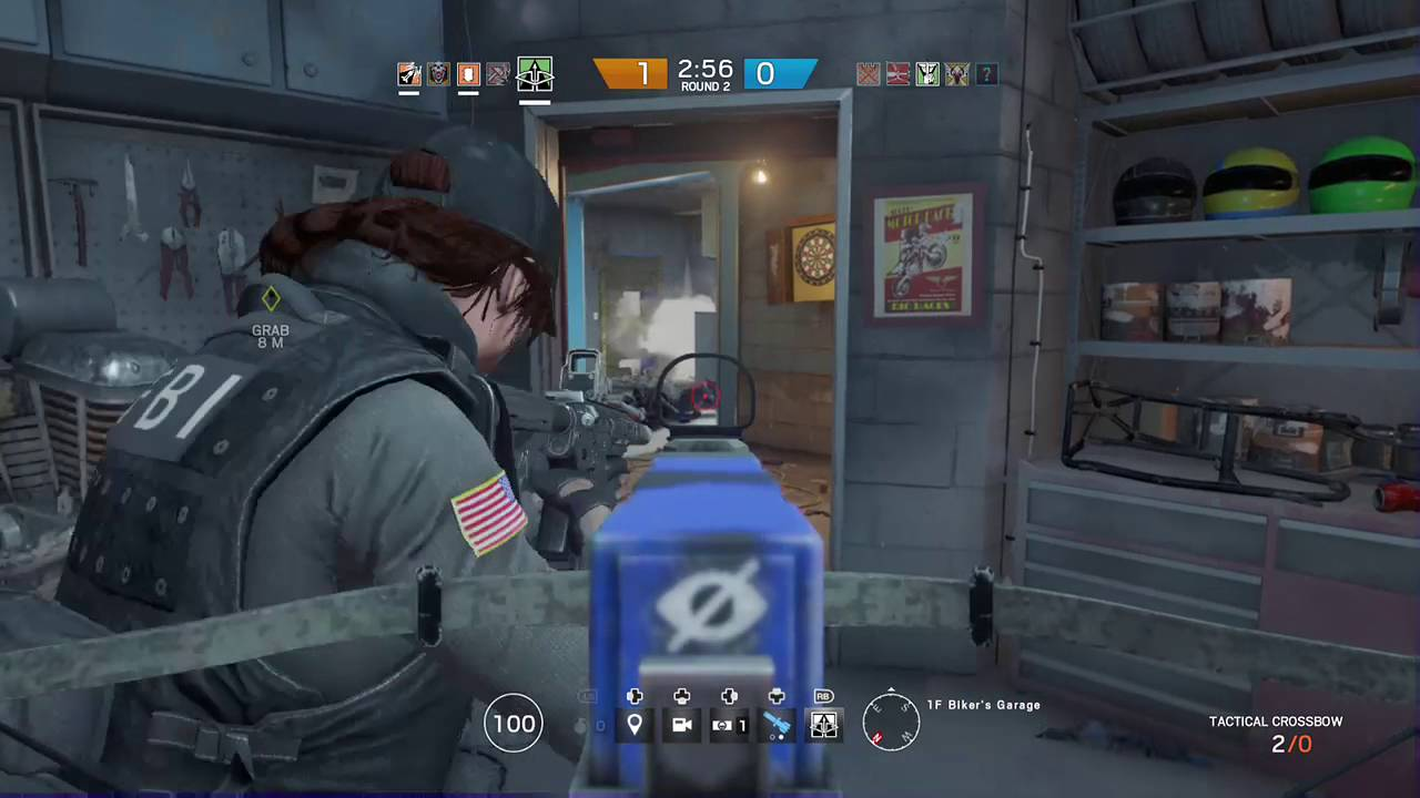 Tom Clancy's Rainbow Six Siege Capitao Favela triple