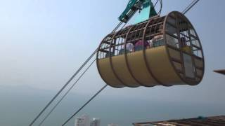Паттайя парк Тайланд. Смотровая площадка. Pattaya Park Thailand . Observation deck.(Посещение Паттайя парка, вид на город с высоты 56 этажа Pattaya Park Beach Resort 3*. Смотровая площадка. Спуститься вниз..., 2016-03-14T04:18:17.000Z)
