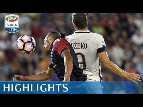 Cagliari - Roma - 2-2 - Highlights - Giornata 2 - Serie A TIM 2016/17